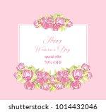 international women's day... | Shutterstock .eps vector #1014432046