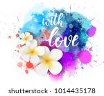 purple and blue colored... | Shutterstock .eps vector #1014435178