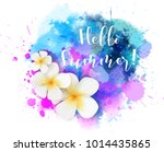 purple and blue colored... | Shutterstock .eps vector #1014435865