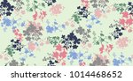 seamless floral pattern in... | Shutterstock .eps vector #1014468652