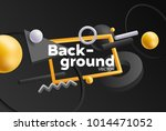 vector background with bright... | Shutterstock .eps vector #1014471052