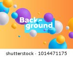 vector background with bright...   Shutterstock .eps vector #1014471175