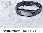 wet fitness bracelet  fitness... | Shutterstock . vector #1014477118