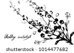 nifty gentle hand drawn... | Shutterstock .eps vector #1014477682