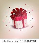 elegant background with gift...   Shutterstock .eps vector #1014481918