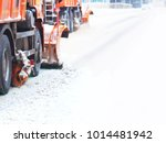 Mechanized Snow Removal....