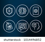 set of file management ... | Shutterstock .eps vector #1014496852