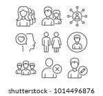 set of teamwork  restroom and... | Shutterstock .eps vector #1014496876