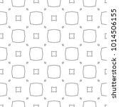 seamless ornamental vector... | Shutterstock .eps vector #1014506155