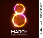 happy womens day. 8 march in... | Shutterstock . vector #1014506422