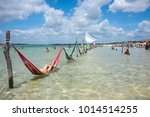jericoacoara  brazil   july 20  ... | Shutterstock . vector #1014514255
