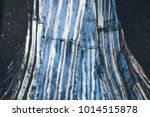 aluminum polished sculpture... | Shutterstock . vector #1014515878