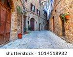 charming little tight narrow... | Shutterstock . vector #1014518932