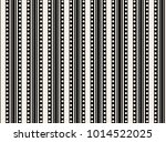 geometric seamless black and... | Shutterstock .eps vector #1014522025