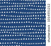 tie dye indigo seamless pattern.... | Shutterstock .eps vector #1014551212