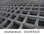 Steel Bars Stacked For...