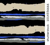 grunge stripes. painted lines.... | Shutterstock .eps vector #1014556666