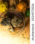 decaying gourds. end of life ... | Shutterstock . vector #1014572026