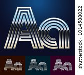 vector reflective abstract... | Shutterstock .eps vector #1014588022