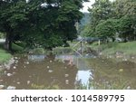 illegal dumped household... | Shutterstock . vector #1014589795