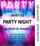 party flyer vector template | Shutterstock .eps vector #101459182