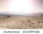rocky hills of the negev desert ... | Shutterstock . vector #1014599188
