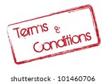 terms and conditions text... | Shutterstock .eps vector #101460706