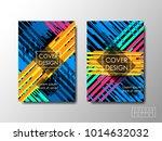 cover design background ...   Shutterstock .eps vector #1014632032