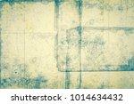old notebook sheet. vintage... | Shutterstock . vector #1014634432