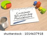 customer relationship... | Shutterstock . vector #1014637918