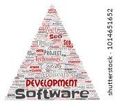 vector conceptual software...   Shutterstock .eps vector #1014651652