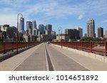 summer sunny day in minneapolis ... | Shutterstock . vector #1014651892