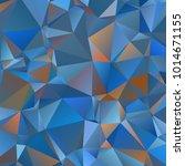 polygonal geometric violet... | Shutterstock .eps vector #1014671155