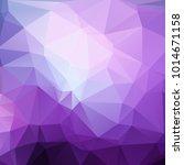 polygonal geometric violet...   Shutterstock .eps vector #1014671158