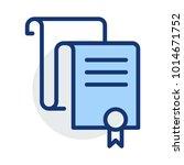verified document report   | Shutterstock .eps vector #1014671752