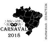 carnaval brazil vector   Shutterstock .eps vector #1014675136