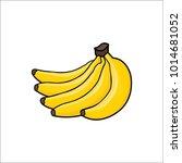 vector illustration of cute... | Shutterstock .eps vector #1014681052