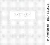 geometric dots seamless pattern.... | Shutterstock .eps vector #1014681526