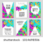 abstract vector layout... | Shutterstock .eps vector #1014698506