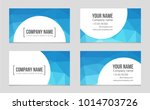 abstract vector layout... | Shutterstock .eps vector #1014703726
