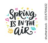 spring is in the air modern... | Shutterstock .eps vector #1014704632