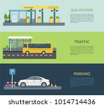 transportation infographics gas ...   Shutterstock .eps vector #1014714436