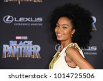 yara shahidi at the world... | Shutterstock . vector #1014725506