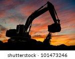 Track Type Loader Excavator...
