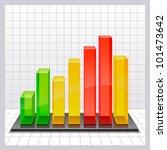 chart   Shutterstock .eps vector #101473642