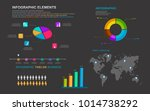 set infographic elements for... | Shutterstock .eps vector #1014738292