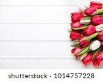 Springt Time. Red Tulip Bouque...