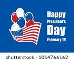 happy presidents' day stock...   Shutterstock . vector #1014766162