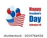 happy presidents' day stock...   Shutterstock . vector #1014766426