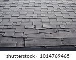 close up view on asphalt... | Shutterstock . vector #1014769465